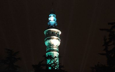 Istanbul üniversitesi beyazit yangin kulesi eski günlerine